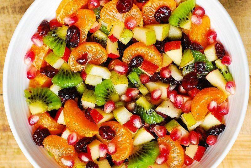 Detoks Meyve Salatası