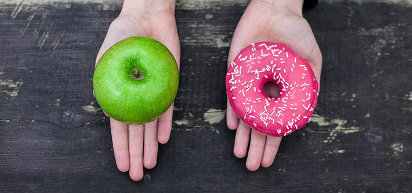 elma ve donut