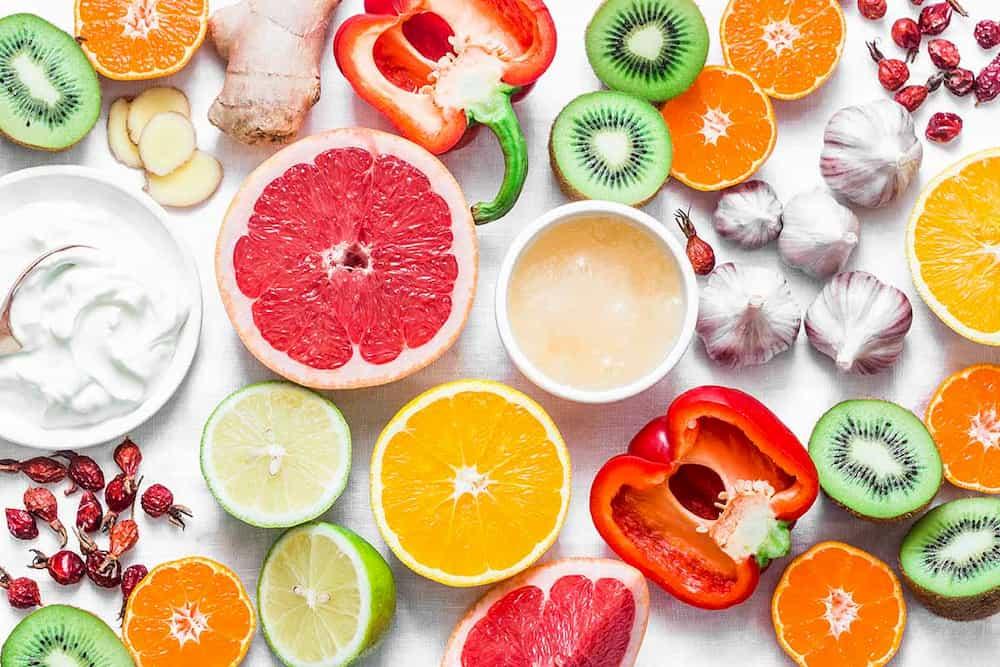C vitamini içeren meyve ve sebzeler
