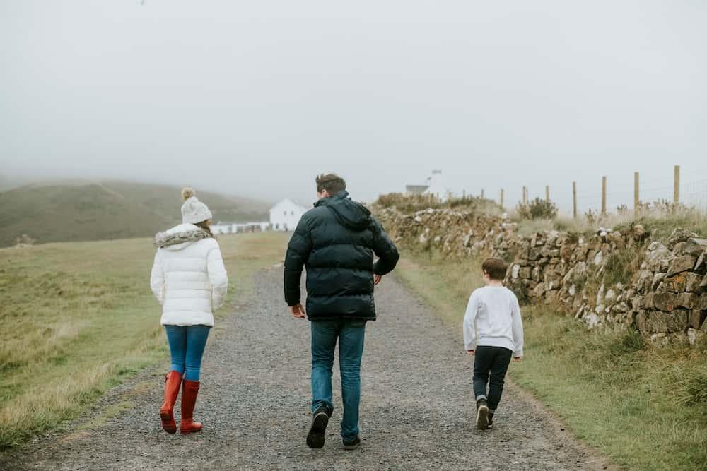 Kapalı havada ailecek doğa yürüyüşü